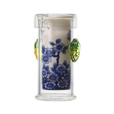 Чайная колба (стекло/керамика) 175 мл.