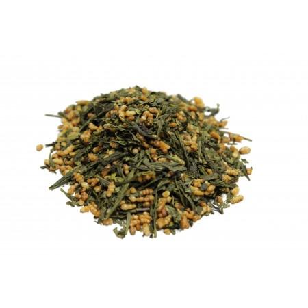 Генмайча, Зеленый чай с рисом