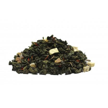 Манговый коктейль (Зеленый чай с добавками)