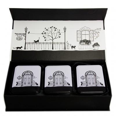 Подарочный набор для чая (3 банки)