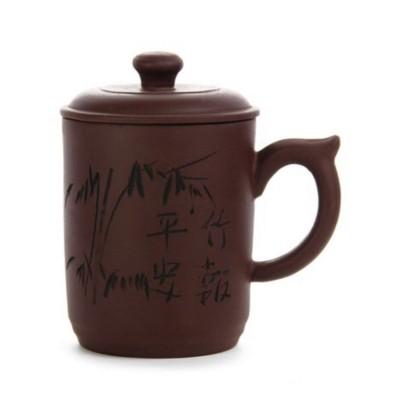 Заварочная чашка из глины в подарочной коробке