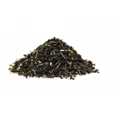Черный чай с чабрецом и Иван-чаем