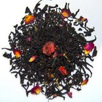 Чай черный с добавками - Вишня с ромом